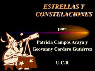 ESTRELLAS Y CONSTELACIONES