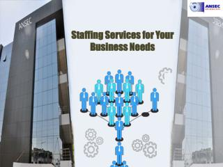 Staffing Services for Your Business Needs