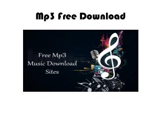 Free music Mp3 Free Mp3 Downloads