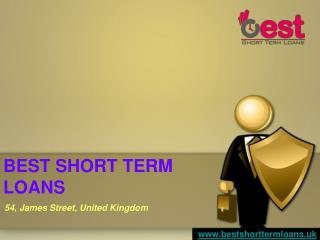 Short term loans managed by loan expert