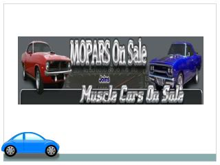 Classic & Old Mopar's Cars for Sale at Moparsonsale.com