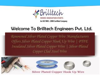PTFE Insulated Silver Plated Copper Wire Manufacturers