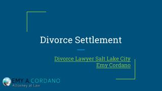 Is It Time To Modify Your Divorce Settlement?