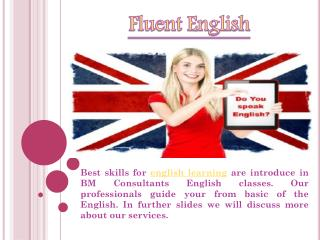 Spoken English Borivali