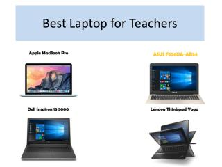 Laptop for teachers