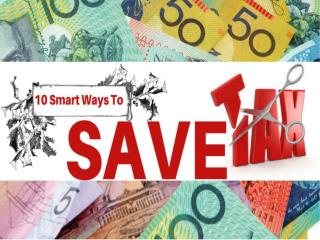 10 Smart Ways To Save Tax