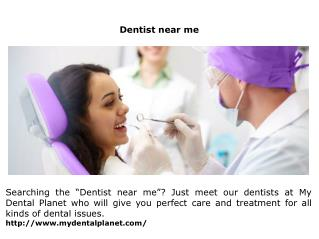 Dentist near me