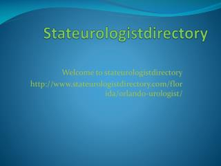 Urologist In Orlando, Fl
