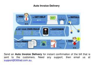 Auto Invoice Delivery