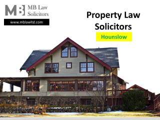 London Property Lawyers | Contracts | Disputes - MB Law Ltd   Solicitors