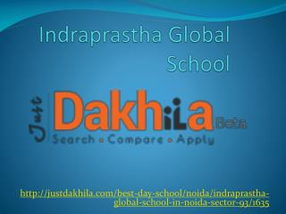 Indraprastha Global School Noida
