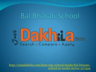 Bal Bharati School Noida