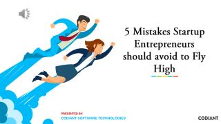 Five killing mistakes startups should avoid...!