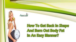 How To Get Back In Shape And Burn Out Body Fat In An Easy Manner?