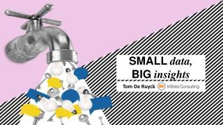 Data Summit Brussels | 'Small Data, Big Insights'