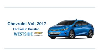 Chevrolet Volt 2017 for Sale in Houston