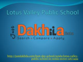 Lotus Valley Public School Noida
