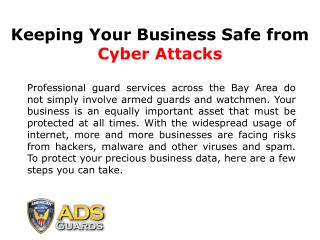 Solved: How to Protect Your Business From Cyber Attacks?