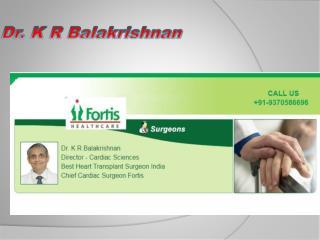 Dr. K R Balakrishnan