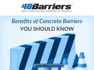 Concrete Jersey Barriers – 4 Benefits