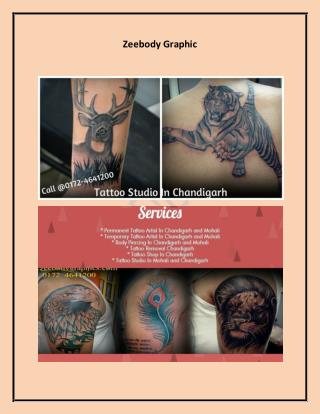 For Best Tattoo Studio, Do Your Research Tattoo Studio In Mohali