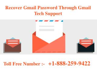 Recover Forgotten Gmail Password In iPhone @  1-888-259-9422
