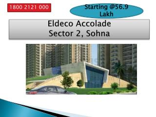 Eldeco Accolade Apartment