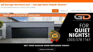 Garage Door Panels Replacement Denver