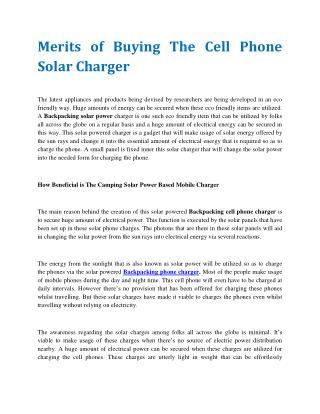 Folding Solar Panel Kit