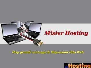 Disp grandi vantaggi di Migrazione Sito Web
