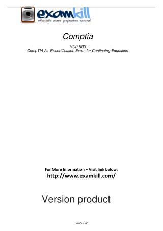 RC0-903 Free PDF Demo