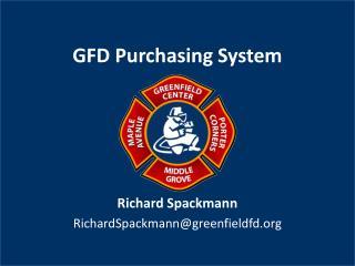 GFD Purchasing System