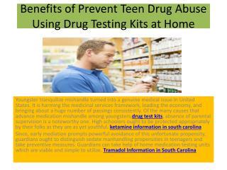 Prevent Teen Drug Abuse Using Drug Testing Kits at Home