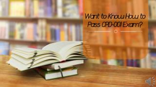 CPD-001 Exam Questions