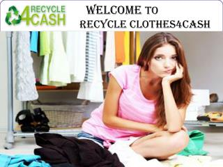 Sell old clothes Essex