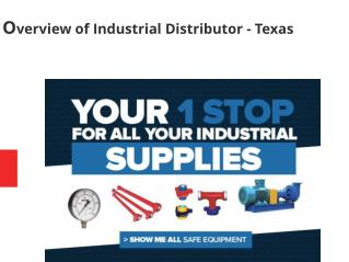 Overview of Industrial Distributors in Texas