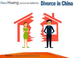 Shanghai-Attorney - How to get easy divorce in China?