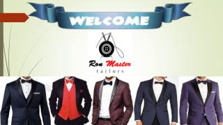 Custom Suits & Bespoke Tailors in Singapore