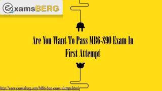 Microsoft MB6-890 Actual Exam Question Answers