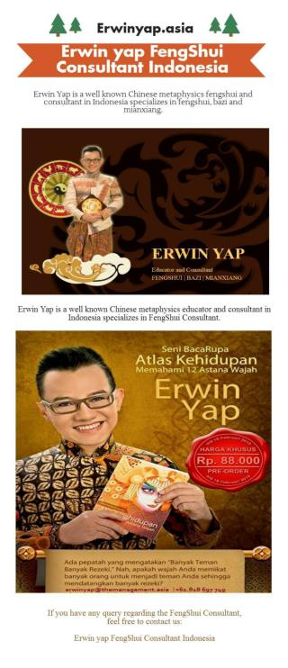 Erwin yap FengShui Consultant Indonesia