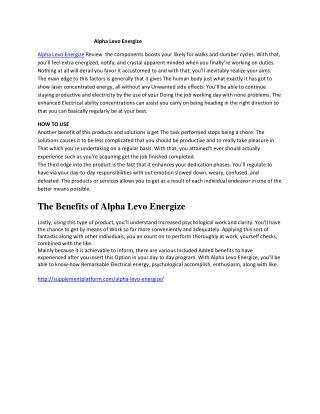 http://supplementplatform.com/alpha-levo-energize/