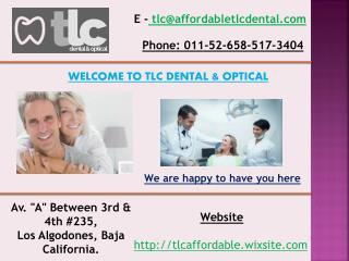 Periodontal dentist in los algodones mexico