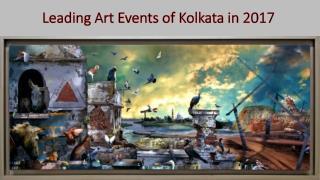 Leading Art Events of Kolkata in 2017