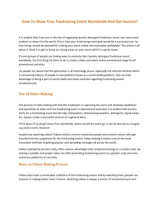 Profitable Solutions Fundraising