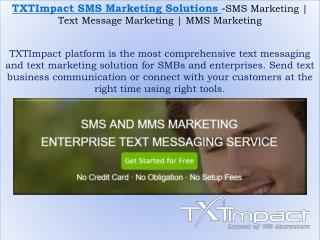 MMS Marketing | Text Message Marketing | Text Messaging Service For Business
