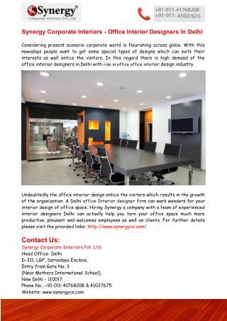 Delhi Interior Designers, Interior Designers In Delhi
