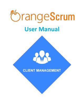 Orangescrum Client management Add on User Manual