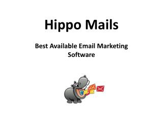 Best Available Email Marketing Software