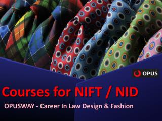 Nift Course By Opusway
