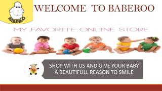 Buy online baby products || Baberoo